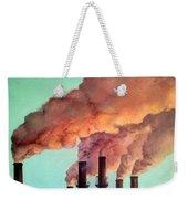 Smog Industrial II Weekender Tote Bag