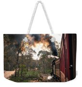 Smoke And Fire Weekender Tote Bag