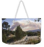 Smoke From Ventura Wildfire, View Weekender Tote Bag