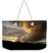 Smoke Like Sunset Weekender Tote Bag