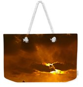 Smoke On The Horizon Weekender Tote Bag