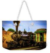 Smoke Stack Steam Train Weekender Tote Bag