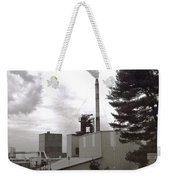 Smoke Stack Weekender Tote Bag