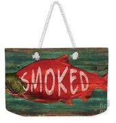 Smoked Fish Weekender Tote Bag