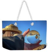 Smokey Bear Balloon In The Crystal Ball Weekender Tote Bag