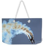 Smokey Biplane Weekender Tote Bag