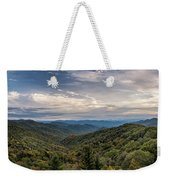 Smokey Mountain Sky Weekender Tote Bag