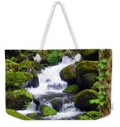 Smokey Mountain Stream Weekender Tote Bag