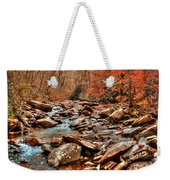 Smokey Mountain Streams And Fall Foilage 2 Weekender Tote Bag