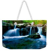 Smokey Mountains Mountain Stream 4 Weekender Tote Bag