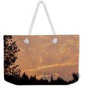 Smokey Skies Sunset Weekender Tote Bag