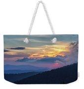 Smokies Centennial Sunset Weekender Tote Bag
