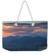 Smokies Sunrise Weekender Tote Bag
