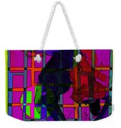 Smokin' As The Sun Goes Down Weekender Tote Bag