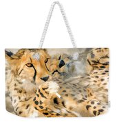 Smokin Cheetah Love Weekender Tote Bag