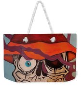 Smoking Skull Weekender Bag