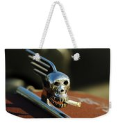 Smoking Skull Hood Ornament Weekender Tote Bag