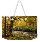 Smoky Autumn Weekender Tote Bag