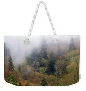 Smoky Mount Vertical Weekender Tote Bag