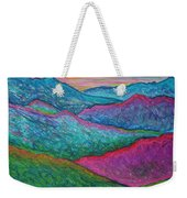 Smoky Mountain Abstract Weekender Tote Bag