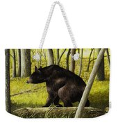 Smoky Mountain Bear Weekender Tote Bag