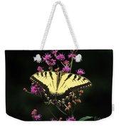 Smoky Mountain Butterfly Weekender Tote Bag