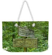 Smoky Mountain Directional Weekender Tote Bag