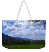 Smoky Mountain Range Weekender Tote Bag