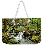 Smoky Mountain Stream 1 Weekender Tote Bag