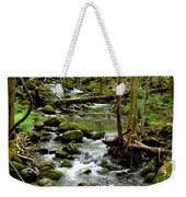 Smoky Mountain Stream 2 Weekender Tote Bag