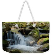 Flowing Stream #3, Smoky Mountains, Tennessee Weekender Tote Bag
