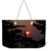 Smoky Mountain Sunset Weekender Tote Bag