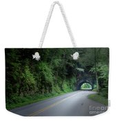 Smoky Mountain Tunnel Weekender Tote Bag