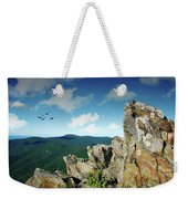 Smoky Mountain View Weekender Tote Bag