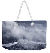 Smoky Mountain Vista In B And W Weekender Tote Bag