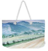 Smoky Mountains From Cades Cove Loop Weekender Tote Bag