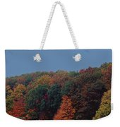 Smoky Mountains In Autumn Weekender Tote Bag by DigiArt Diaries by Vicky B Fuller