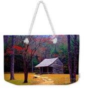 Smoky Mtn. Cabin Weekender Tote Bag