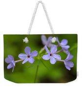 Smoky Wildflowers Weekender Tote Bag