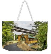 Smolen-gulf Bridge And Riverview Walk Bridge Weekender Tote Bag