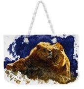 Smooching Lions Weekender Tote Bag