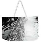 Smooth Cascade Weekender Tote Bag by Valeria Donaldson