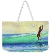 Smooth Glide Weekender Tote Bag