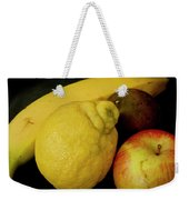 Smoothie Collection With Apple Note. Weekender Tote Bag