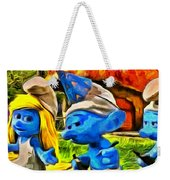 Smurfette And Friends - Da Weekender Tote Bag