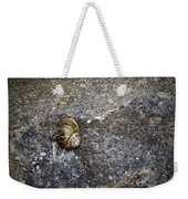 Snail At Ballybeg Priory County Cork Ireland Weekender Tote Bag