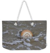 Snail In The Surf Weekender Tote Bag