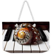 Snail Shell On Keys Weekender Tote Bag