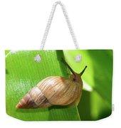 Snail Work B Weekender Tote Bag