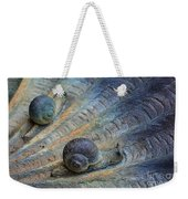 Snail's Pace Weekender Tote Bag